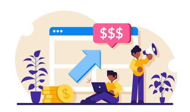 ppc campaign pay per click illustration
