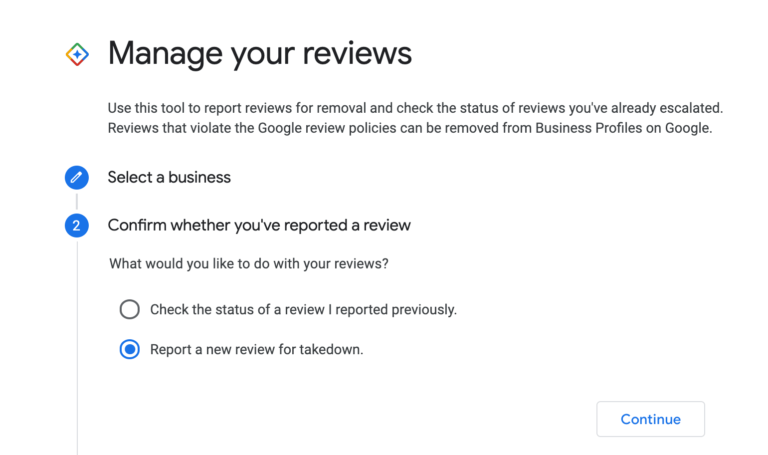 google my business manage reviews1